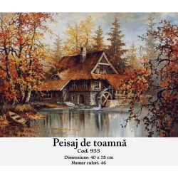 Peisaj de toamna (kit goblen)