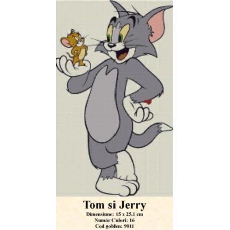 Tom si Jery (kit goblen)
