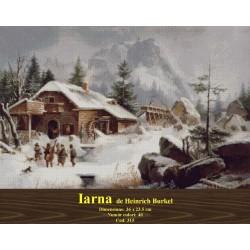 Iarna de Heinrich Burkel