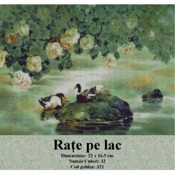 Rate pe lac