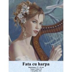 Fata cu harpa