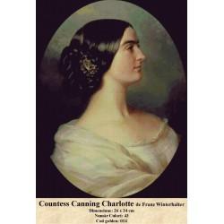 Countess Canning Charlotte de Franz Winterhalter
