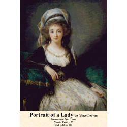 Portrait Alady de  Vigee Lebrun