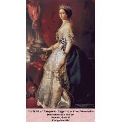 Portrait of Empress Eugenie de Franz Winterhalter