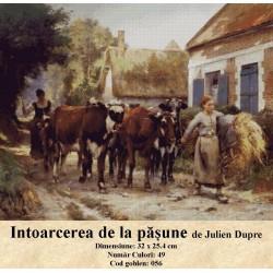 Intoarcerea de la pasune de Julien Dupre