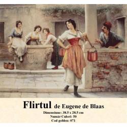Flirtul de Eugene de Blaas