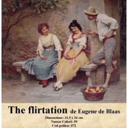 The flirtation de Eugene de Blaas