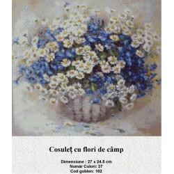 Cosulet cu flori de camp