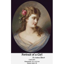 Portrait of a Girl de Anton Elbert